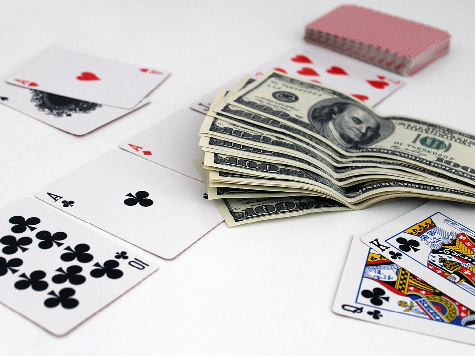 cards poker cash